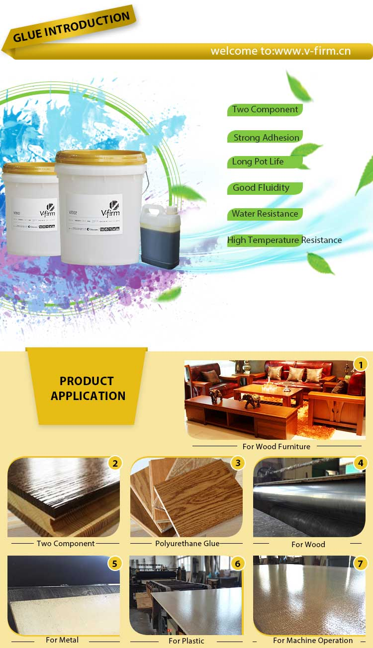 PU Adhesive Polyurethane for PVC, plastic, Plaster board, Aluminum honeycomb board