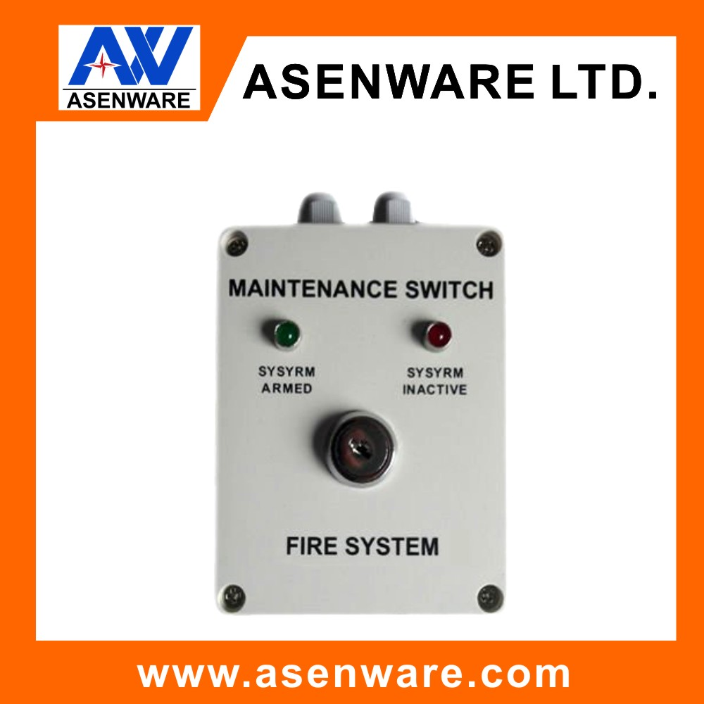 Automatic Fire Alarm System fire alarm key switch spur