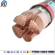 600v 35mm2 70mm2/sqmm 90mm 120mm 150mm 180mm 4 core copper underground electrical power cable