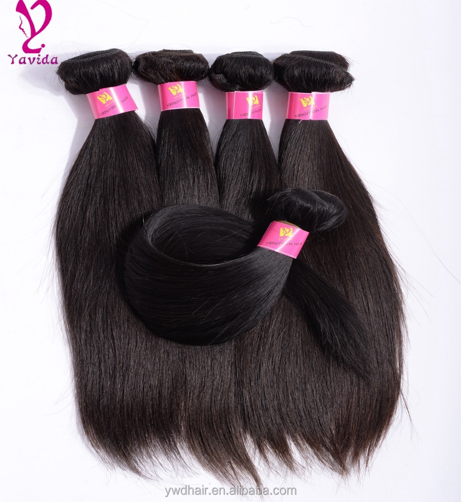 8A Grade Virgin Unprocessed Human <strong>Hair</strong> Brazilian Straight Bundles Brazilian Virgin <strong>Hair</strong> Best Quality