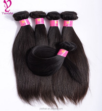 8A Grade Virgin Unprocessed Human Hair Brazilian Straight Bundles Brazilian Virgin Hair Best Quality