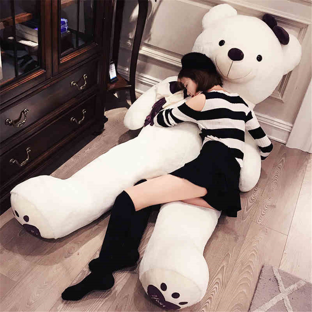 Fancytrader Huge Giant Love Teddy Bears Plush Toys Gifts for Girls Soft Big Stuffed Bears Doll Christmas New Year Valentine's Day Gifts 13