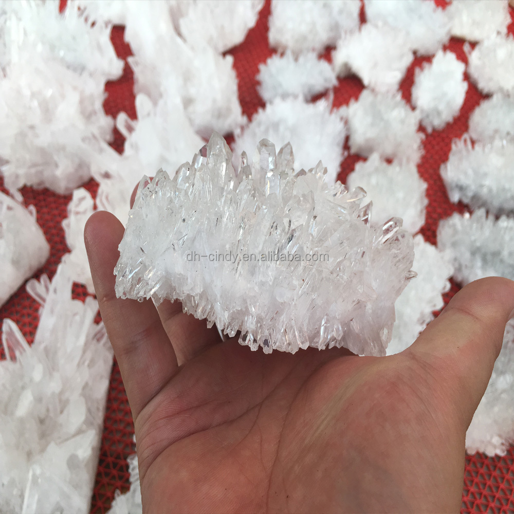 100% Wholesale White Crystal Cluster Points
