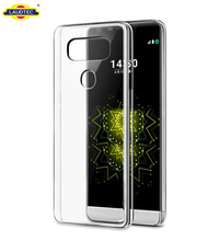 Durable Shock Absorent Transparent TPU Back Case For Lg G6