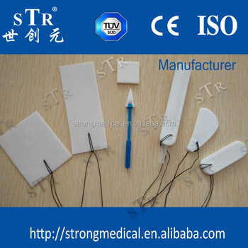 Weihai Strong Medical dressing pva minimally invasive surgical sponge