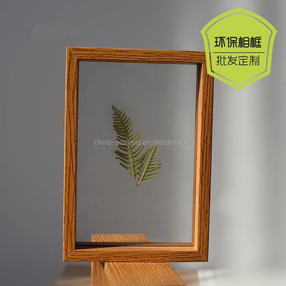 New Arrival Classic Family Solid Wood Photos high quality funny glass curved glass photo frames