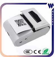 color style GPRS/Bluetooth /IrDA avalaible portable printer for POS system