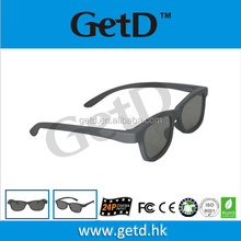 Amazing disposable 3d glasses flicker-free and battery-free factory glasses