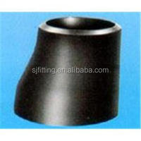 Large diameter standard a105 carbon steel pipe fitting pipe reducer