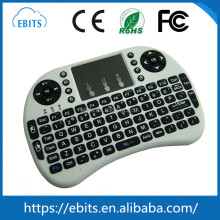 Multiple system mini 2.4G keyboard with touchpad for multi-media