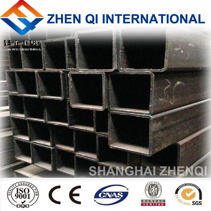 Building material welded square steel pipe as customized