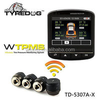 Indash car camera with TPMS