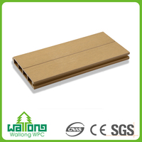 Good quality village outdoor wood plastic exterior wood wall panels