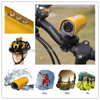 ski helmet camera waterproof sport camera