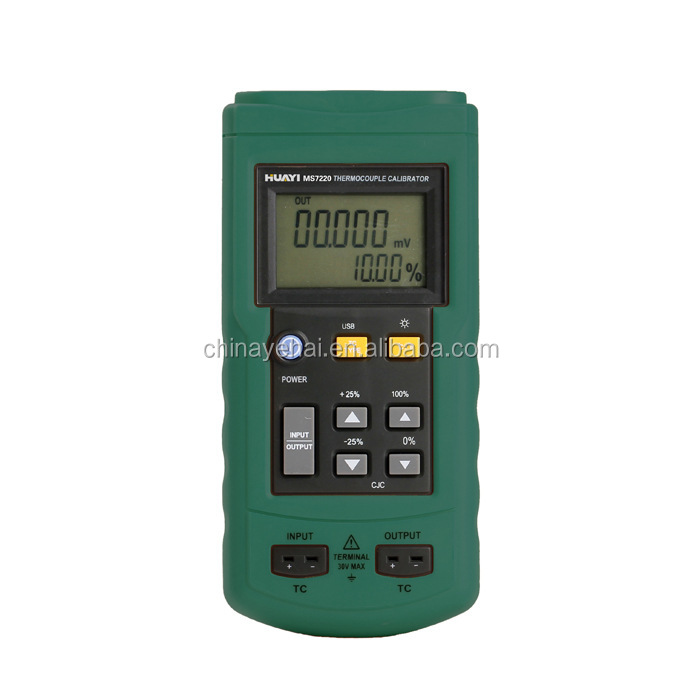 Professional Thermocouple Calibrator YH-502/High Quality Thermocouple Calibrator with J,K,T,E,S,R,B,N Type