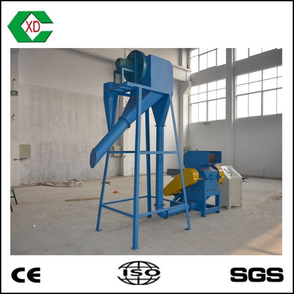 CSJ-500C Rubber Coarse Crusher fiber nylon separator rubber powder pulverizer