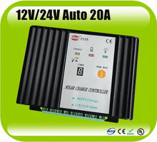 High quality Low price 12V/24V auto 20A MPPT solar system controller