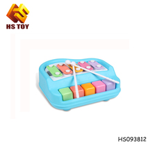 BSCI audited 5 tones educational toys kids plastic musical instruments musical toys for kids