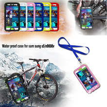 waterproof rugged plastic case Shockproof Snow Proof Durable Waterproof Case cover For Samsung Galaxy S5 G900