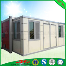 Modular living RAL color galvanized Foam sandwich panel for insulation 20FT/40FT Expandable Flat Pack Container House