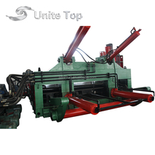 YDJ scrap car shear and compressor machine