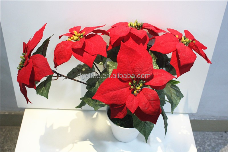 Only $ 0.10 Direct factory price 50cm Height artificial ficus ginseng Christmas Flowering Bougainvillea Bonsai ESDH12 04A