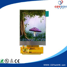 2 inch tft lcd 240X320 flexible lcd display capacitive touch screen