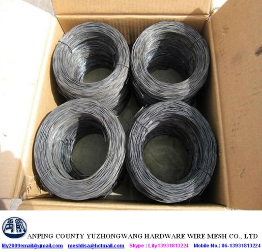 Anping Best Selling Black Annealed Wire / Twist Rebar Tie Wire