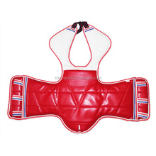 Reversible taekwondo body protectors chest vest guard
