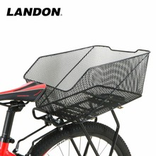 Hot Selling High Quality Bicycle Steel Wire Basket Supply Rear Wire Metal Bicycle Basket For Bike Storage