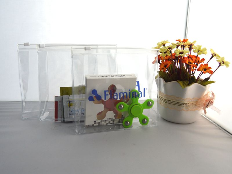 Manufacture eco-friendly makeup set packaging promotional bags