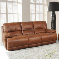 Furniture shenzhen furniture for heavy people home cinema recliner leather sofa sets