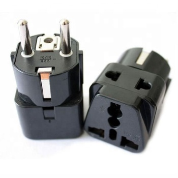 US plug to universal travel adaptor with safety shutter