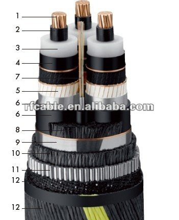 0.6/1kv XLPE Submarine cable
