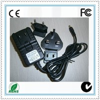 Detachable plug power adapter 5v 12v 15v 24v 0.5a 1a 2a 3a interchangeable switching adapter