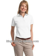 polo shirt for lady XXL 100% combed cotton