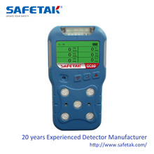 GC60 Portable Multi Gas Detector, 30+ available sensors