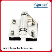 Adjustable heavy duty pool fence glass hinge