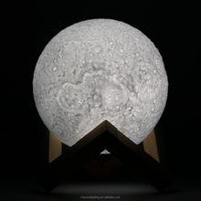 13cm LED Moon Night Light 3D Lamp with Bluetooth