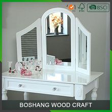 Hot Sales Glass Dressing Table And Mirror