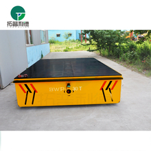 large capacity trackless self propelled trailer for forging factory