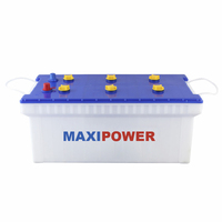 12v150ah high performance low discharge dry charged car battery