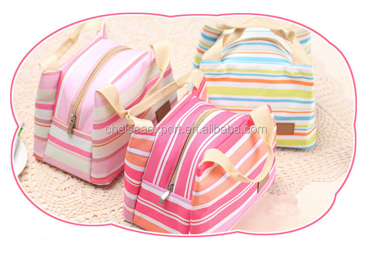 Assorted color inexpensive disposable insulated cooler bag