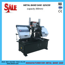"Manual 11.8"" Metal Cutting Band Saw Machine Horizontal Heavy Duty Metal Cut Off Saw 3 phases"