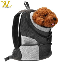 Ventilation dog carrier backpack, comfort mesh airline approved pet carrier