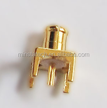 MCX male PCB mount connector