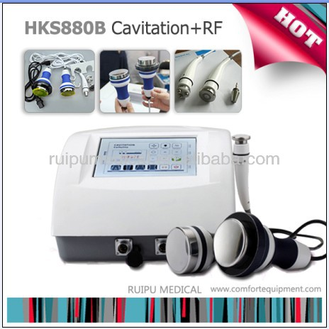 2016 best portable cavitation rf machine for body slimming
