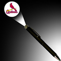 Retail LOGO projector pen with LED light Cartoon projection ballpoint pens with ready-samples available