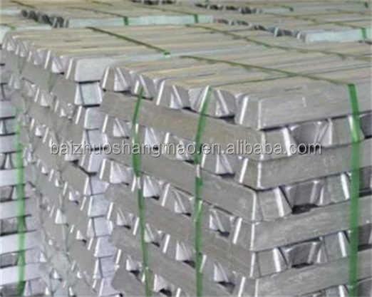 High Purity Primary Aluminium Ingots 99.99%/99.9%/99.7% with good price