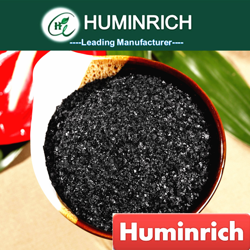 Huminrich Humate Biostimulant Well-Known Fertilizer Organic 70%Ha+10%K2O Potassium Humate FertilizHuminrich Regular Basis Solder